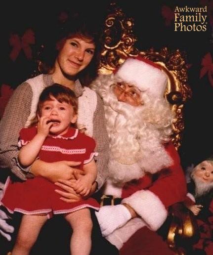 Funny Santa Pictures Awkward Amp Bad Santa Photos