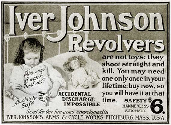 Old-ad-iver-johnson-revolver
