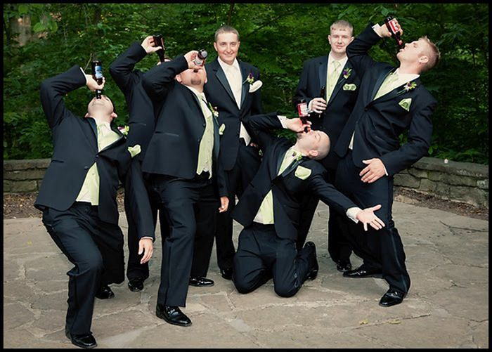 20 Groomsmen Photos With A Twist