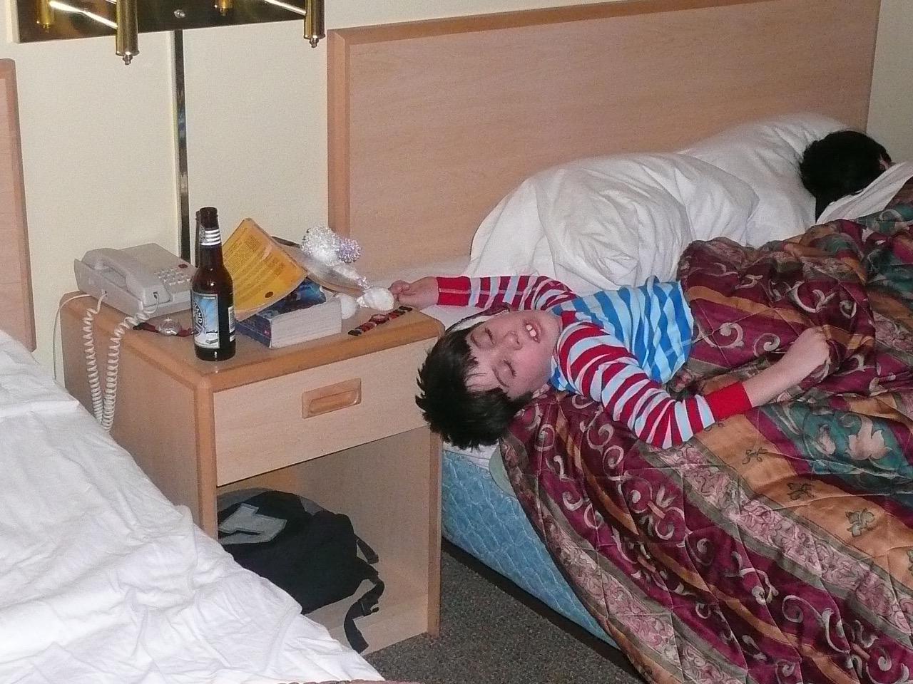 sleeping 8