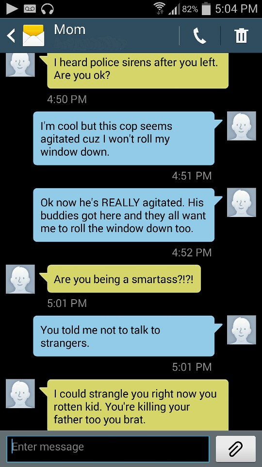 This Woman S Text Pranks To Her Mom Are Hilarious