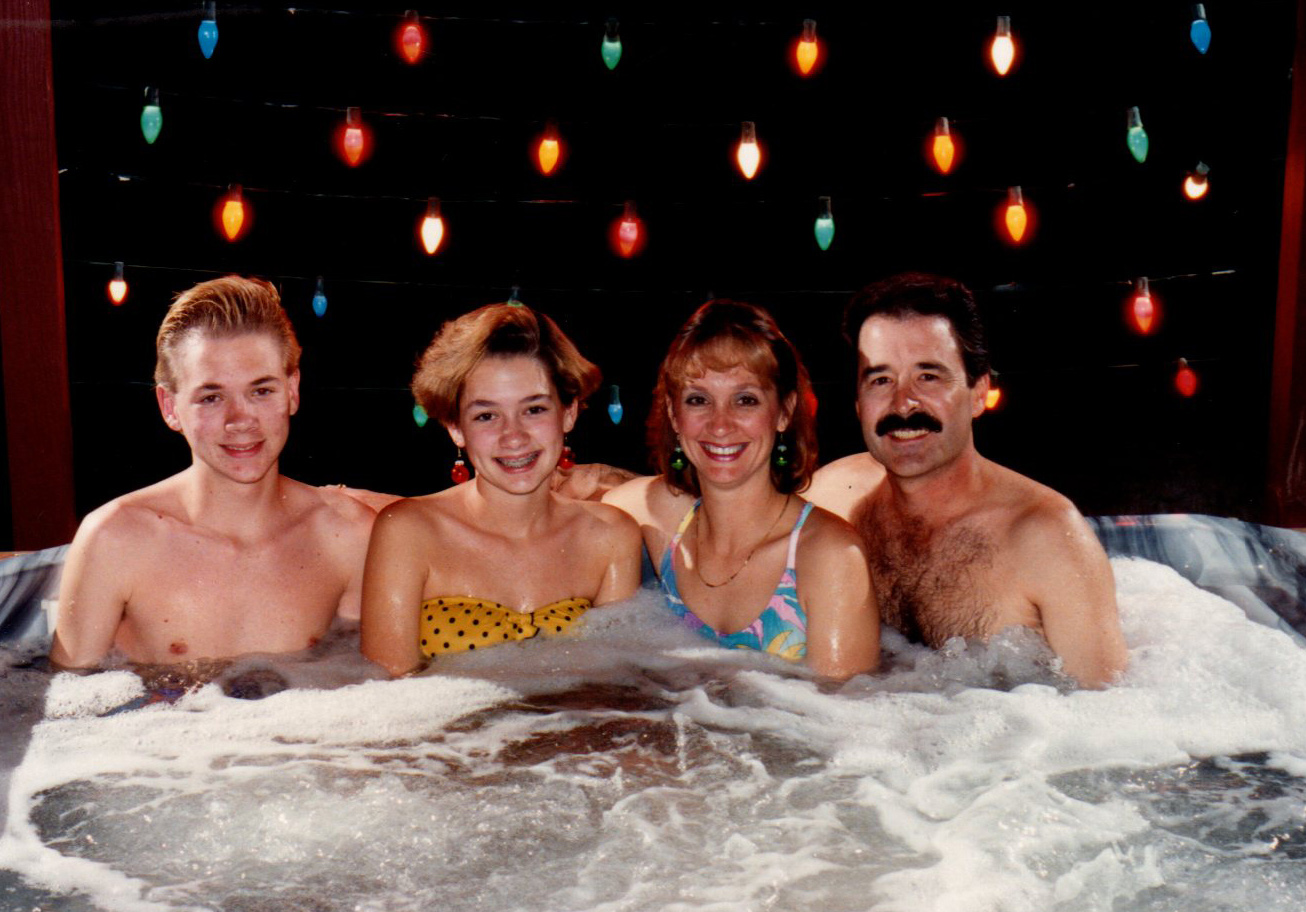 Hot tub group nude #4