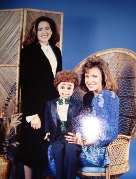 funny ventriloquist portrait
