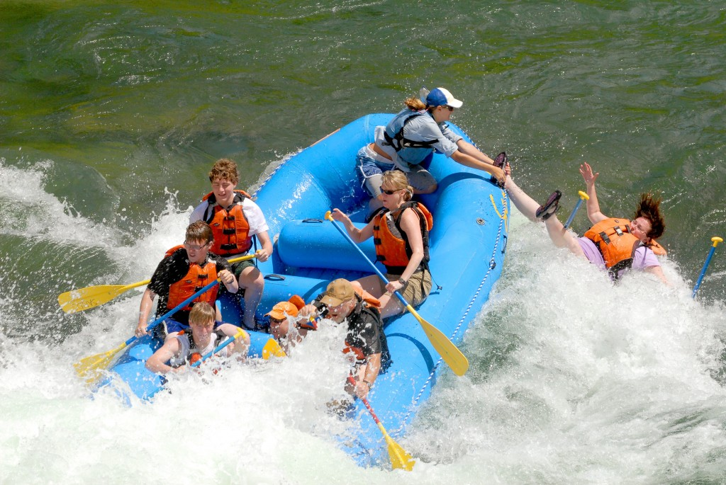 funny rafting picture
