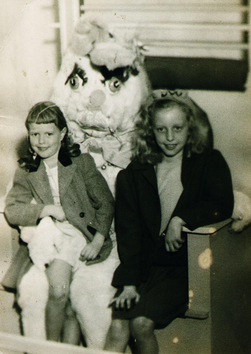 old creepy easter