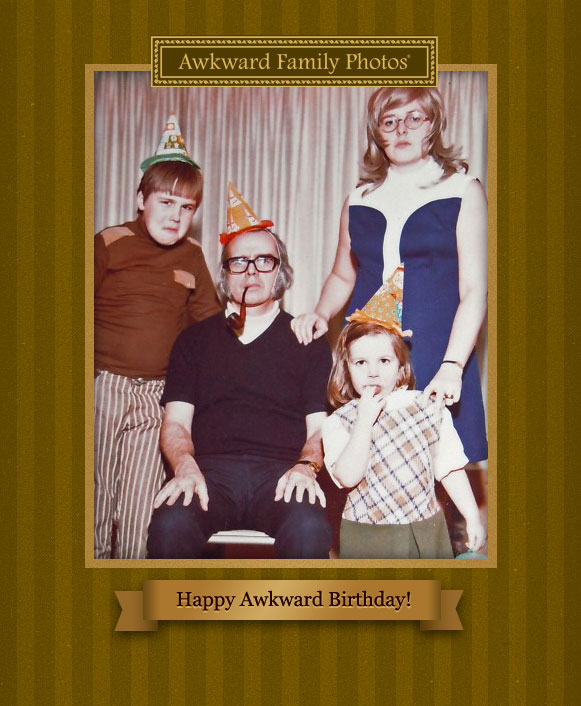 Funny family photo cards awkward christmas holiday cards awkward bday m4hsunfo
