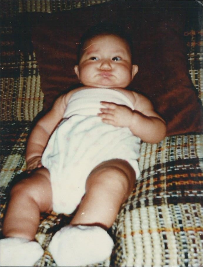 funny fat baby picture