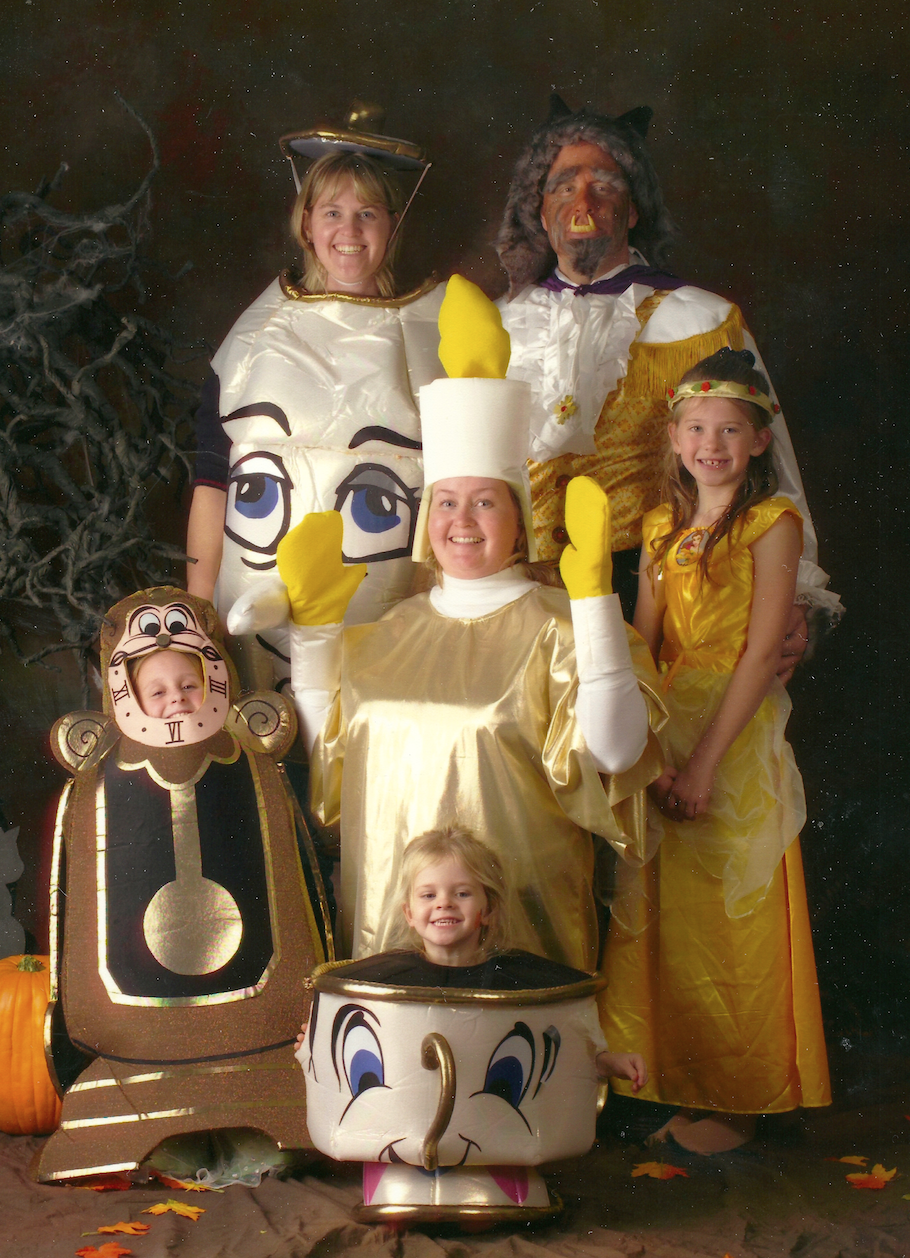 awkward family halloween