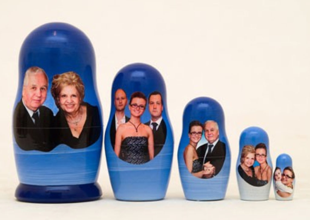 funny family photos, russian nesting dolls