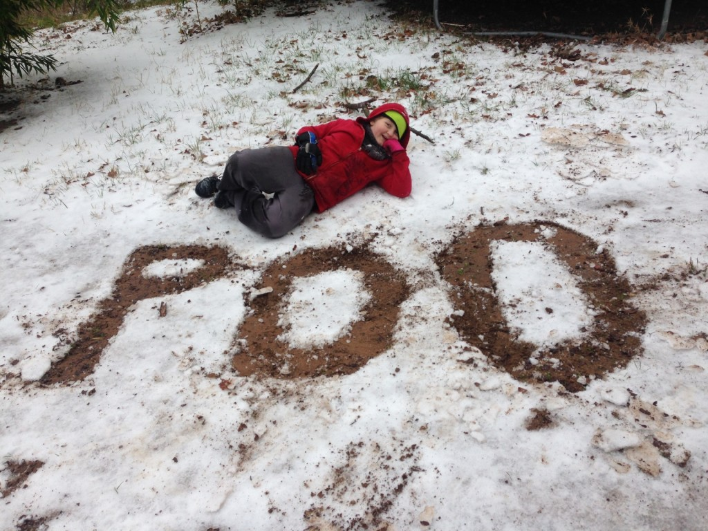 funny snow picture