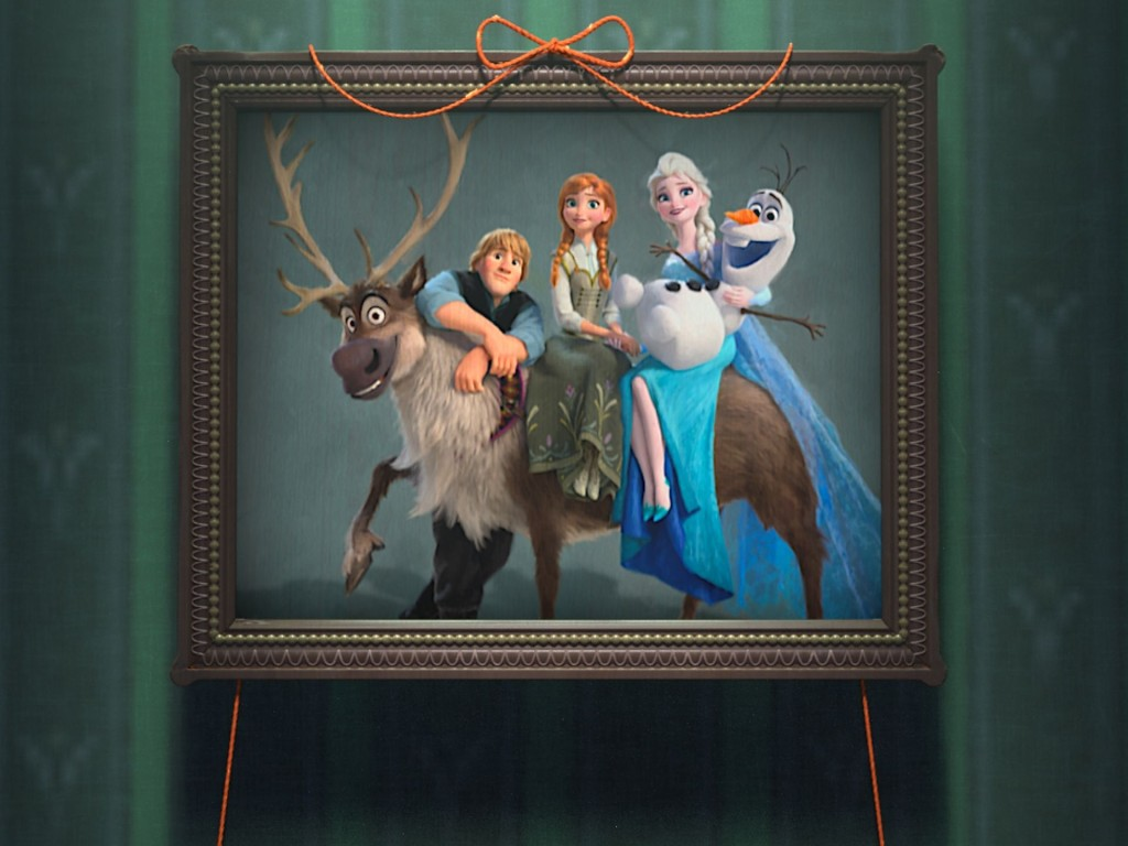 funny frozen picture