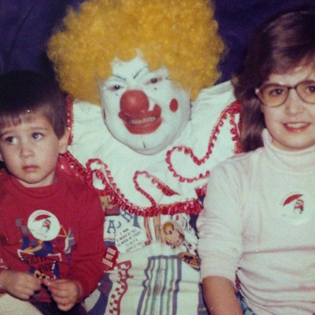 creepy clown picture