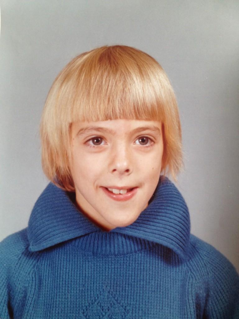 funny school photo, 70s