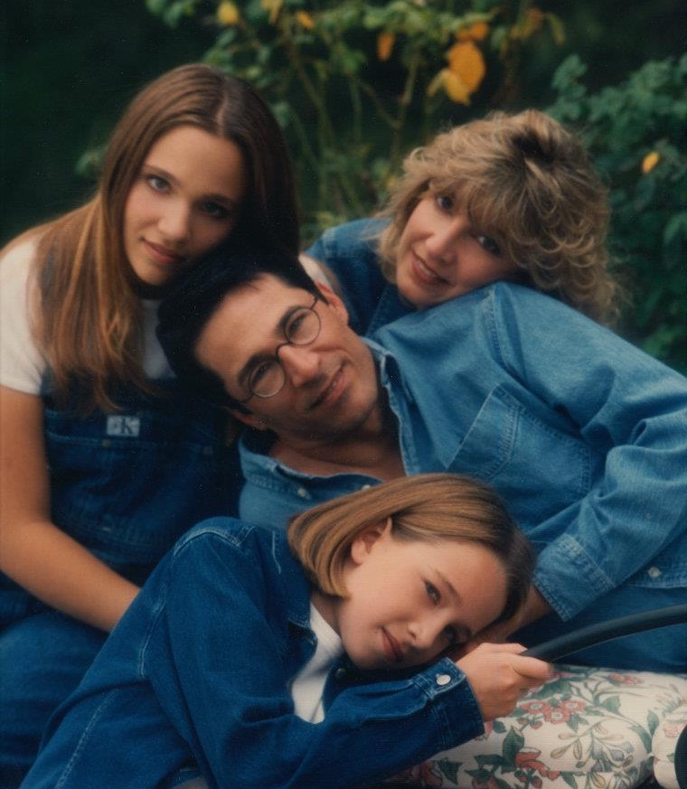 denim family picture