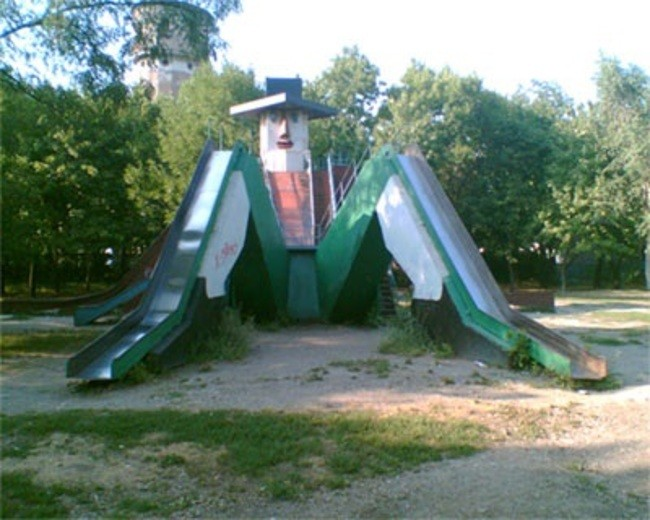 creepy playgrounds