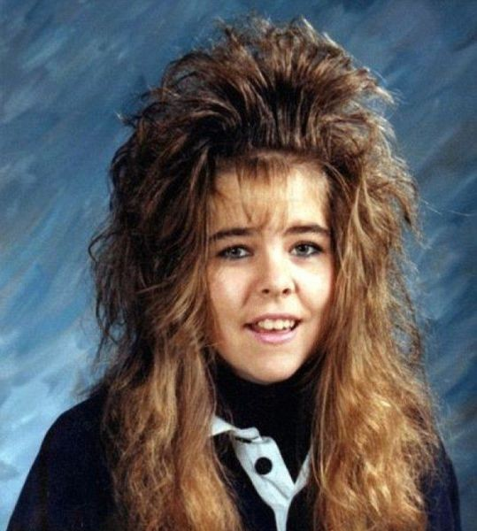 funny 80s hair picture