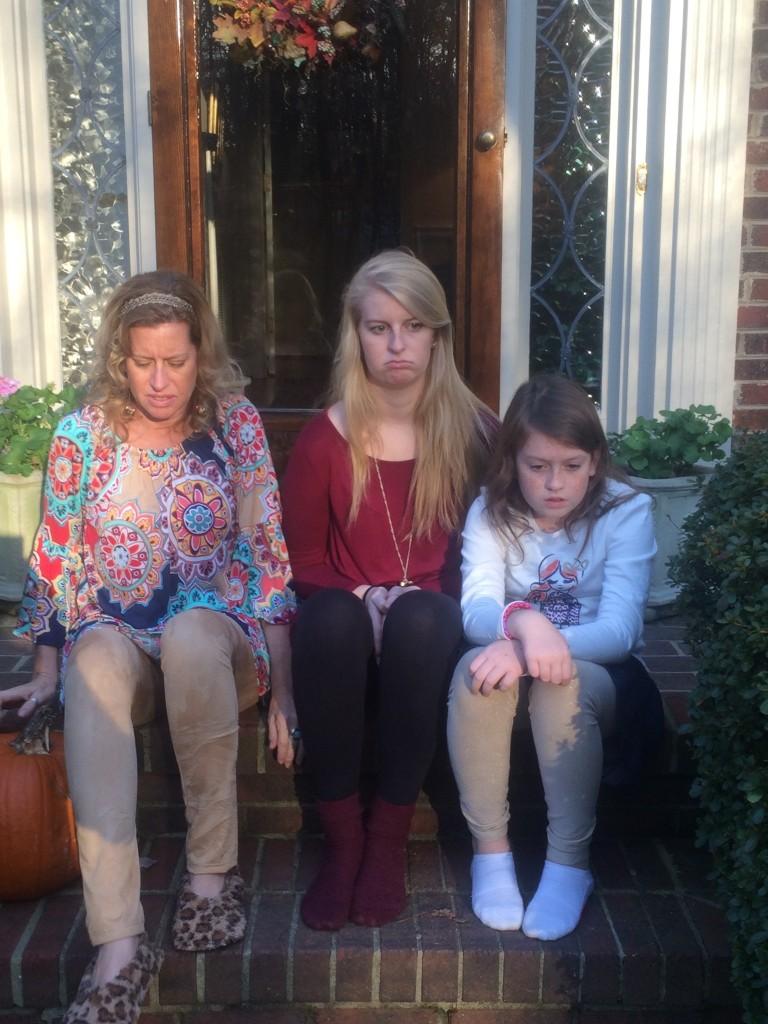 Unexpectedness! candid little girls