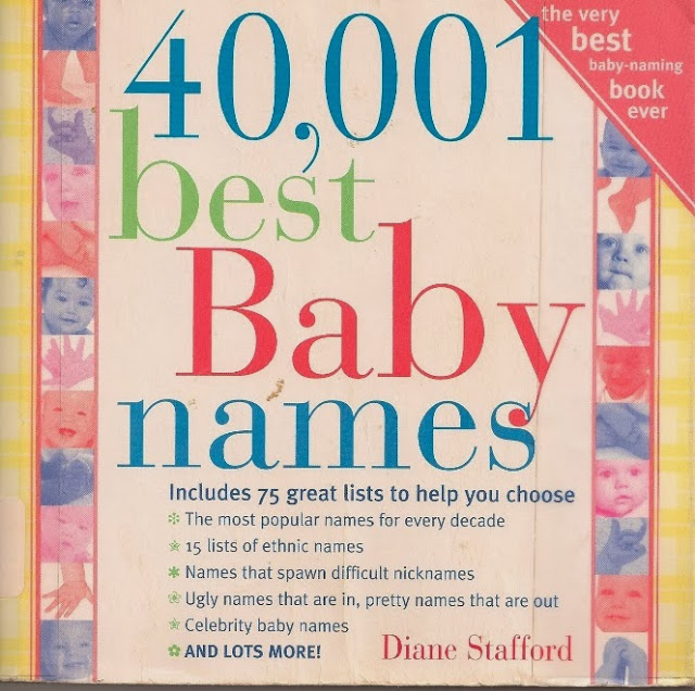 This May Be The Least Helpful Baby Name Book Ever