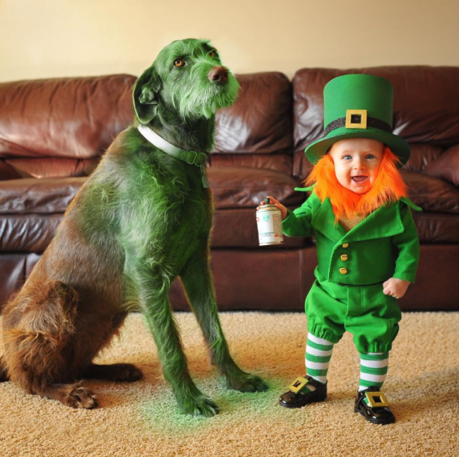 Funny St. Patrick's Day Pictures | Awkward Family Photos