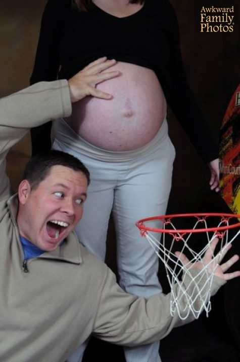 Awkward Pregnancy Photos Funny Pregnancy Pictures